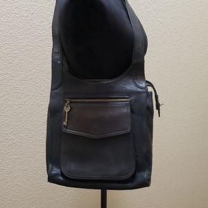 Vintage Fossil leather bag